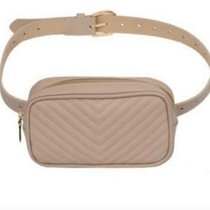 Steve Madden Quilted Fanny Pack